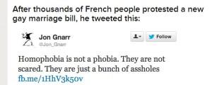 assholes tweet