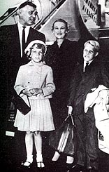 Clark Gable, Wife No 5, Kay and the Spreckel kids.